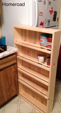 DIY Slide Out Pantry