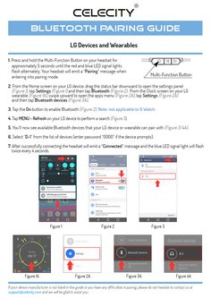 LG Bluetooth® Pairing Guide