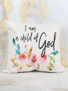 Child of God Pillow - Pillows - Gifts/Home Decor