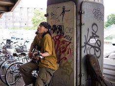 Street musician@Yoyogi Park