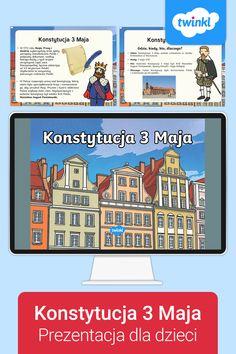 Prezentacja zawiera najważniejsze informacje na temat uchwalenia tego kluczowego w polskiej historii dokumentu i odpowiada na pytania czym jest konstytucja oraz kiedy, gdzie i dlaczego ją uchwalono. 🇵🇱 #konstytucja3maja #3maja #konstytucja #święto3maja #świętokonstytucji #konsytucja3majaprzedszkole #twinklpolska #prezentacja #powerpoint #zadarmo #darmowe #bezplatne #bezpłatne #materiałydydaktyczne #pomocedydaktyczne #twinkl #polska #polskie #popolsku #historiapolski