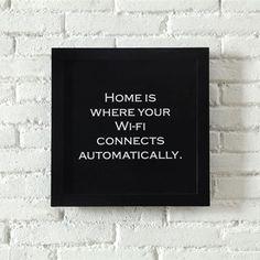 Home sweet home....