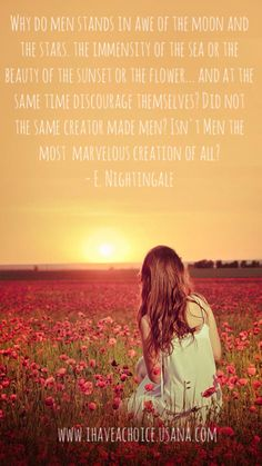 Earl Nightingale- Why do men stands in awe of the moon and the stars...and at the same time discourage themselves? Did not the same creator made men? Isn't men the most marvelous creation of all?