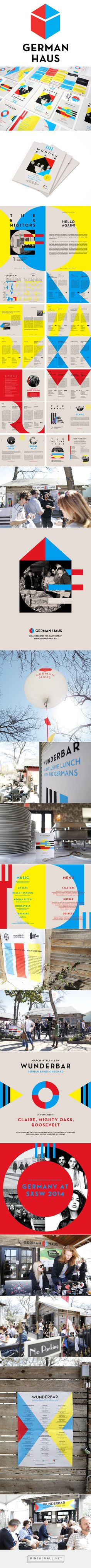 SXSW 2014. German Haus. on Behance - created via http://pinthemall.net