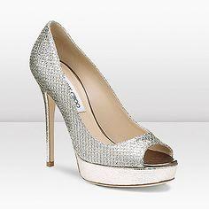 Jimmy Choo shoes .. These are sooooo pretty!