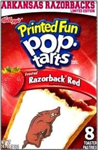 Arkansas Razorbacks Pop Tart