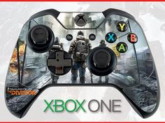 Tom Clancy's the Division Skin Xbox One Controller Skin Sticker Xbox Skin Tom Clancy Skin The Division Skin Tom Clancy Divison Wrap