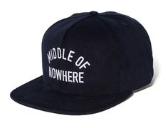 Middle Of Nowhere Navy Snapback Cap by THE QUIET LIFE Classic Hats, Snap Backs, Snapback Cap, Navy, Middle, Blue, Accessories, Style, Caps Hats