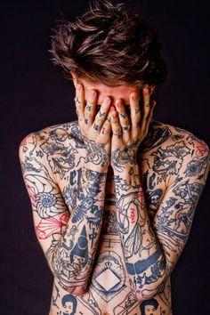 Amazing Symbols  Full Body Tattoo Design