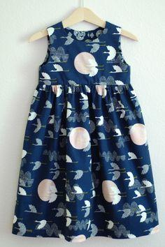 Geranium dress by cut cut sew. Love this fabric.