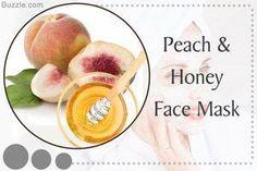 Peach and Honey Face Mask #HomemadeFaceMaskRecipe #ExfoliatingFaceScrub Best Homemade Face Mask, Homemade Skin Care, Exfoliating Face Scrub, Exfoliate Face, Skin Tags On Face, Honey Face Mask, Honey Masks, Homemade Moisturizer, How To Apply Lipstick