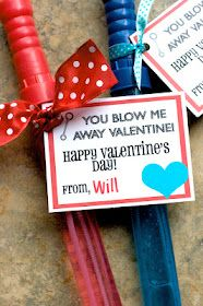 Cute Non Candy Valentine Idea...
