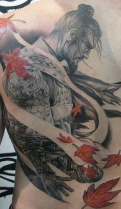 Japanese Warrior Tattoo Japaneseinked Com Free Download 8464