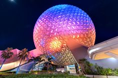 https://flic.kr/p/Hbzq8U | Earthly Colors | Spaceship Earth has got to be one of my favorite things to photograph in all of Epcot. While the view during the day can be somewhat boring, the view at night is when it really comes alive. The vibrant colors can be see all the way from the World Showcase and there are so many different ways it can be photographed. What's your favorite? Have a magical day! Visit Disney Photo Tour on Facebook and Instagram