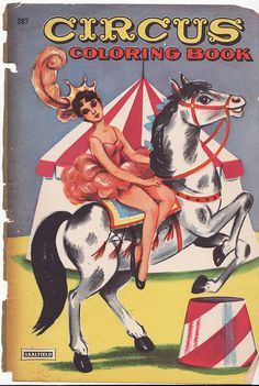 Circus Coloring Book by Calsidyrose, via Flickr