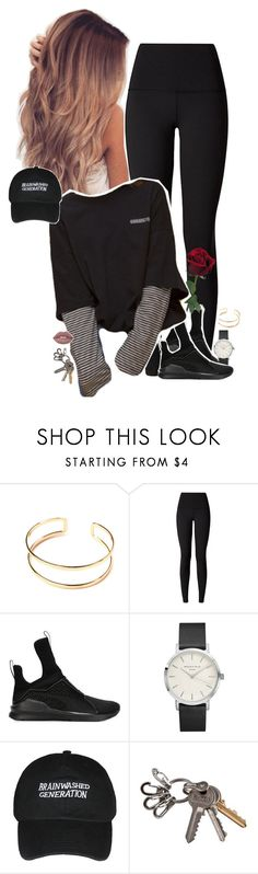 """Set 566 -"" by xjulie1999 ❤ liked on Polyvore featuring lululemon, Puma and Topshop"