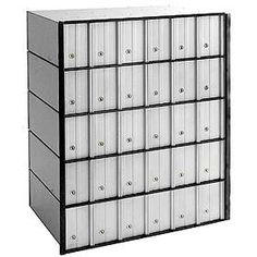 Commercial Aluminum Mailbox Systems Are Rear Loading Locking Mailbo Available In 6