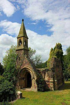 An abandoned chapel...