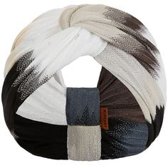 Missoni Ombre Chevron Top Knot Headband ($210) ❤ liked on Polyvore featuring accessories, hair accessories, brown, headband hair accessories, missoni, head wrap headband, knot headband and knotted headwrap