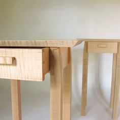end tables w drawer storage set of 2 small side tables handmade wood