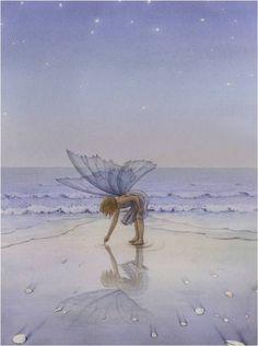 .Fairy on beach