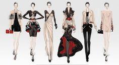 中国国际女装设计师大赛作品