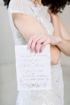 Fine Art Wedding Invitation Suite | Photography: Morgan Franklin Creative | RSVP Events | Nashville Wedding Planner | Charleston Wedding Planner | To see more, click here: http://rsvpeventdesigns.com/2018/06/spring-wedding-inspiration-nashville-wedding-planner/