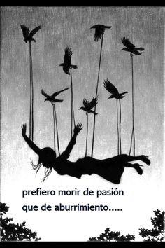 vivir con pasión