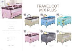 Travel Cot Mix Plus by Asalvo l #madewithlove