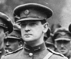 Michael Collins, Irish revolutionary leader, was assassinated on August in He was 31 years old. Michael Collins, Irish Independence, Best Of Ireland, King's College London, Irish Quotes, Irish Pride, Irish Celtic, Better Half, My Heritage