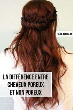 Hair care: the difference between porous and non-porous hair-Soin cheveux : la différence entre cheveux poreux et non poreux ! Shot Hair Styles, Curly Hair Styles, Natural Hair Styles, Split Ends Hair, Porous Hair, Morning Hair, Curling Hair With Wand, Honey Hair, Editorial Hair