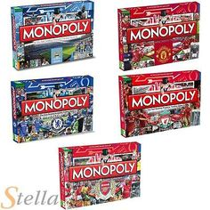 Official premiership #football club edition #monopoly property trading #board gam,  View more on the LINK: 	http://www.zeppy.io/product/gb/2/111536638086/