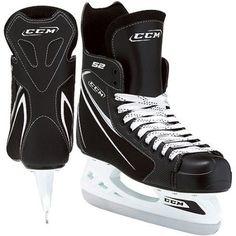CCM 52 Ice Skate, Black