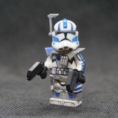 Star Wars Minifigures, Lego Star Wars, Lego Custom Clones, Mandalorian, Clone Wars, Gifts For Boys, Stars, Awesome, Star Wars Art