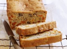 Enjoy the taste of summer year round in this lovely, moist loaf cake with the added walnuts. Loaf Recipes, Cake Recipes, Yummy Treats, Sweet Treats, Walnut Cake, Loaf Cake, Home Baking, Let Them Eat Cake, No Bake Cake