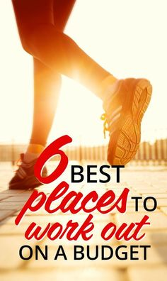 Best Places to Work Out on a Budget