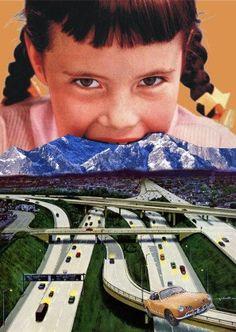 Art on a postcard.