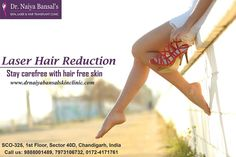Dr. Naiya Bansal Skin Clinic is unarguably one of the most reliable and cost efficient laser hair removal clinics in Chandigarh for the best results.