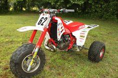 » 1985-1986 Honda ATC250R Motocross Project Atv Reviews, Honda Trike, Bike Cart, Custom Paint Motorcycle, Drift Trike, Pit Bike, 3rd Wheel, Dirtbikes, Motorcycle Bike