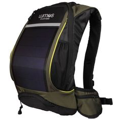 A solar hydration bag that charges your gadgets when you ride! I need this!!!
