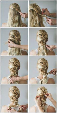 Wiesn frisuren lange haare anleitung