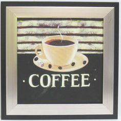 Alpine Art and Mirror Kitchen Coffee Canvas Wall Art