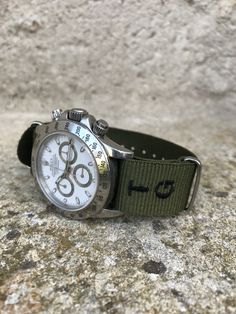 Even james bond had his nato straps not why not you? with a personalized nato watch strap you will still have a different touch of what already exists. Bracelet Nato, Nato Strap, Watches, Band, Bracelets, Leather, Accessories, Sash, Clocks