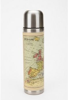 Map thermos