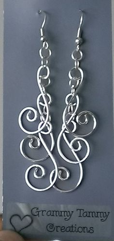 Free Shipping -Silver Swirls Earrings -hypoallergenic,clip on,lever back, pick a length, casual or dressy, stylish, chic, popular, low price $6.95