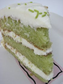 Trisha Yearwood's Key Lime Cake This recipe calls for quite a bit of oil- but I replaced it with applesauce with wonderful results- very moist! Frosting is optional- a used a sugar glaze with lime zest to cut some more calories....every little bit counts! ;)
