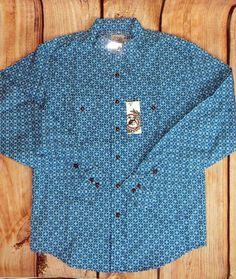 $17.99! free shipping CINCH Jeans MTW7020014 Boys SHIRT Western Snaps  NWT YOUTH BOY LARGE 12 #CINCH