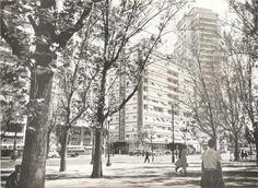 Praça da República com o Edifício Esther ao fundo - 1954