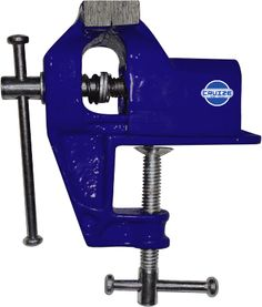 Baby Vice Slide Type Fixed Base Cast Iron Body, Available with clamp provided for Firm on table.