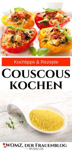 Couscous How To Cook, Cooking Couscous, My Favorite Food, Favorite Recipes, Couscous Salat, Couscous Recipes, Nutritional Value, Wok, Great Recipes